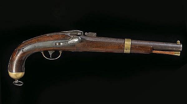 Prototype Side Hammer Pistol (1855)