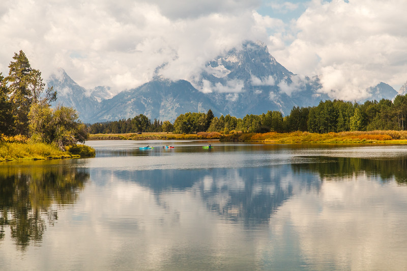 Oxbow Bend in the Snake River