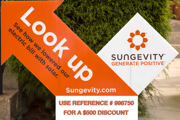 Our Sungevity Solar Panel Installation