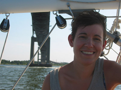Sailing on Chesapeake, 2002
