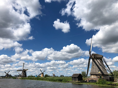 2018 Rotterdam and Kinderdijk