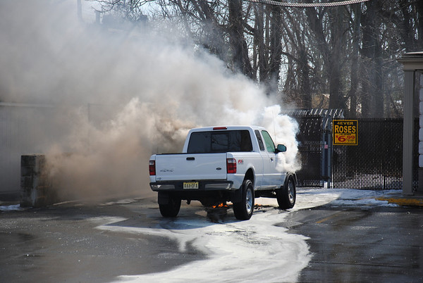 Laurelton FC-Vehicle Fire 2-18-14