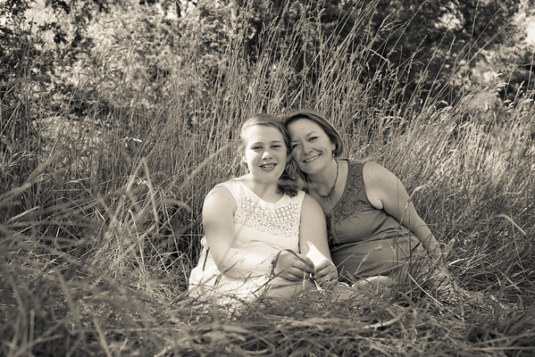 Family Portraits - Mother & Daughter Portraits
