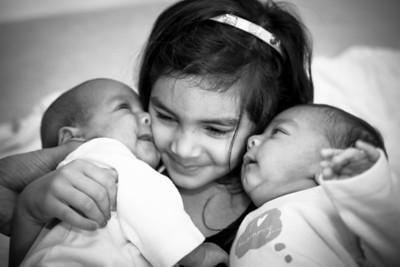 Baby Portraits // Amar's Twins
