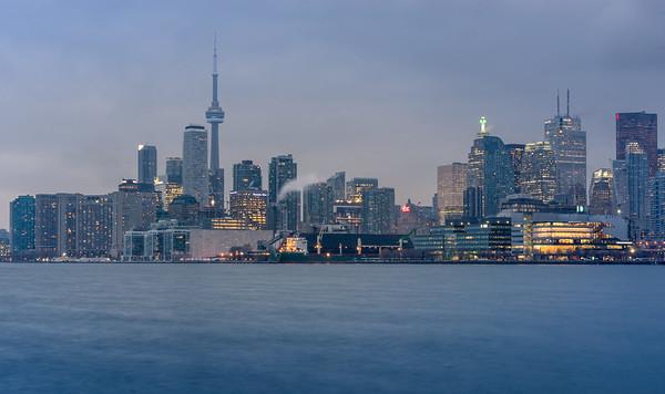 Toronto before flight