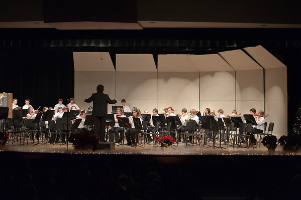 Alma Middle School Band 2011 - 2012