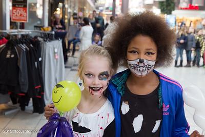 paddepoel 2015-winkelcentrum-halloween en ode an die freude