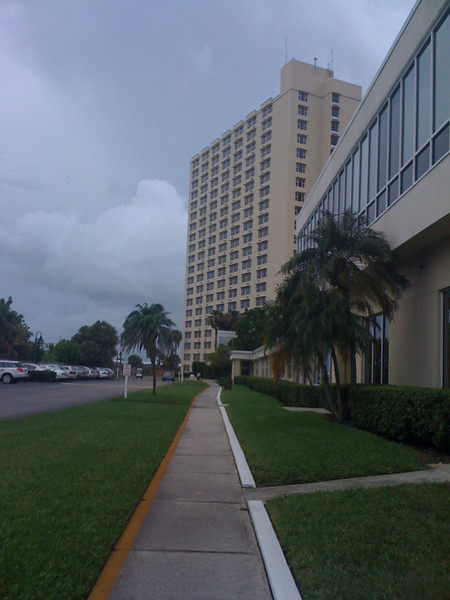 One of the Fountain assisted living facility towers