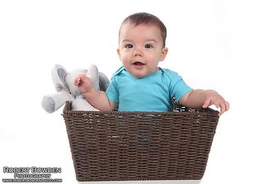 Mason Norris 6 month Baby Photos