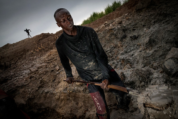 The diamond miners in Mbuji-Mayi