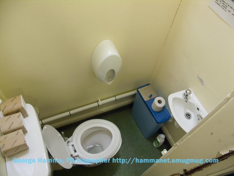 Each floor has one toilet.