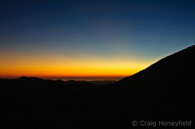 Santiago Peak Off-Road Trip