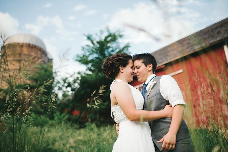 Sara & Britani's wedding at Rock Cut State Park near Rockford, IL