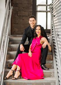 Justine & Ryan's Engagement Portraits