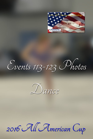 Events 113-123 Dance