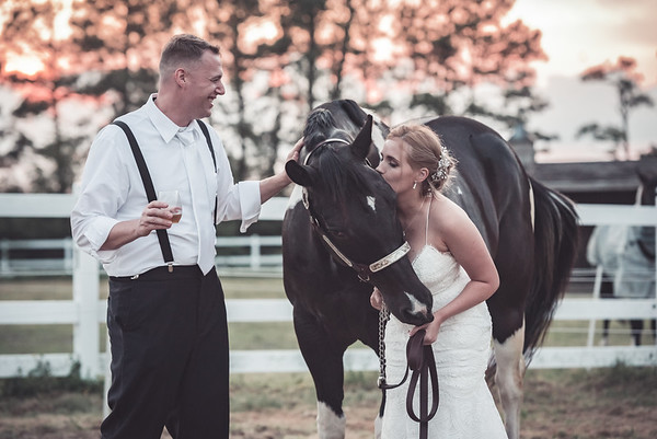 Melissa & Brad | Fair Winds Farm | Virginia Beach