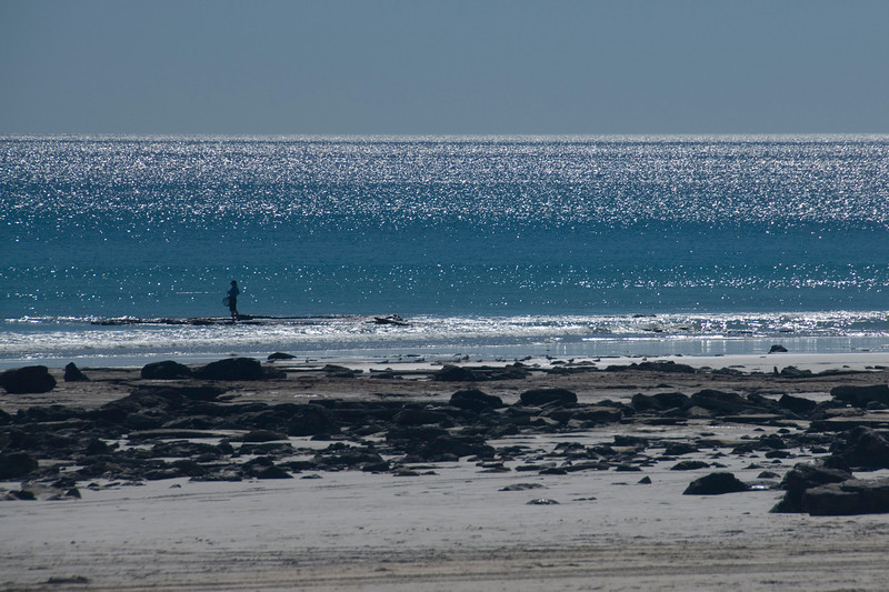 Shore Fishing, Cable Beach - Broome, Western Australia