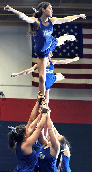 Defending New England Cheering Champions