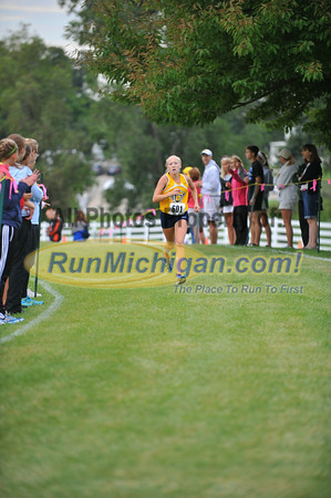 JV Girls' Finish - 2014 OU Golden Grizzly HS Invite