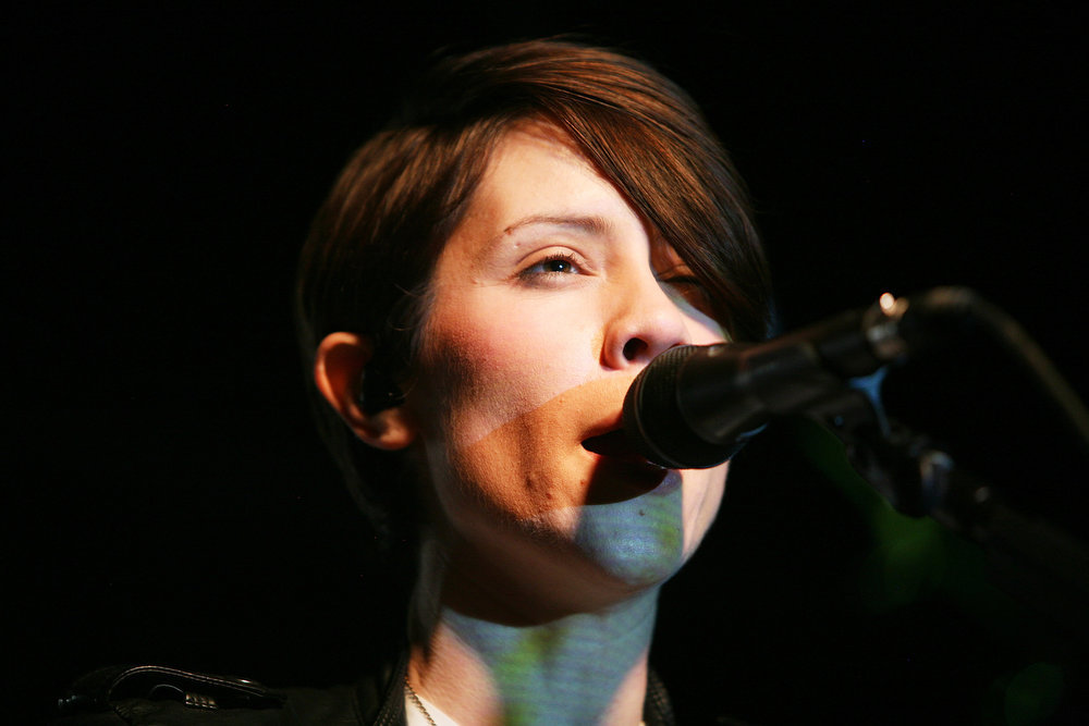 . Tegan and Sara perform onstage at the iHeartRadio Official SXSW Showcase on March 12, 2013 in Austin, Texas.  (Photo by Roger Kisby/Getty Images for iHeartradio)