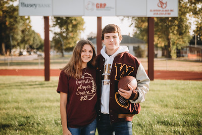 Taylor + Will Senior 2019