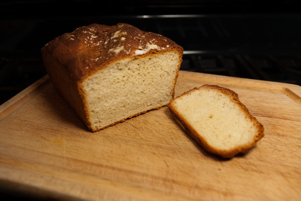 January 1, 2012 - Home made bread from a recipe in the