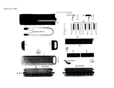 Yamaha P-22 1975-82