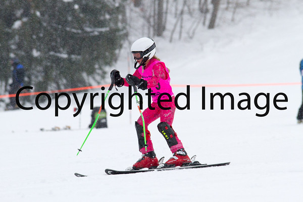 U14 & Under - Women Slalom Run 2, Saturday 1/4/14