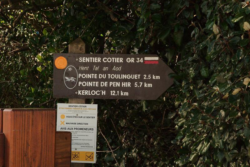 Sentier Cotier GR 34