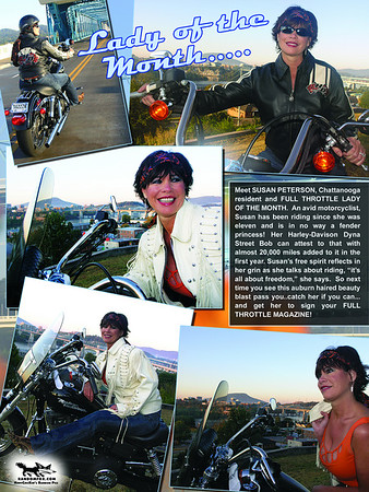 Full Throttle Lady of the Month Susan Peterson