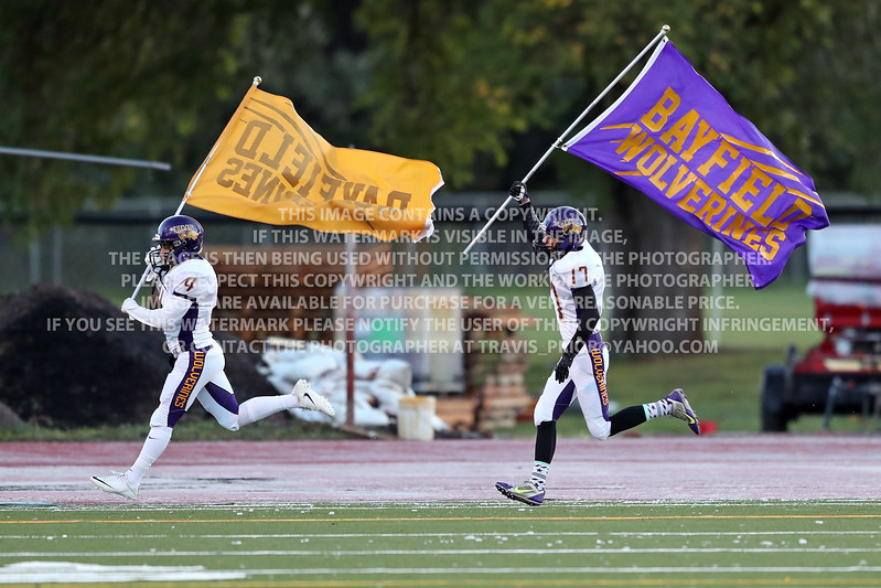 Friday September 22, 2016 Bayfield High School Varsity Football vs Durango
