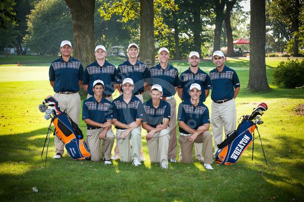 Wheaton College 2013-14 Men's Golf Team