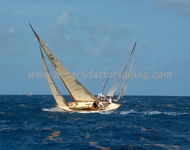 JANLEY under sail