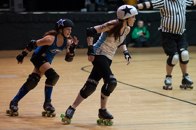 Albany All Stars vs Rock Coast Rollers 2016-02-27