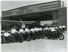 IPD Motorcycles at Indianapolis Municipal Airport 1930s