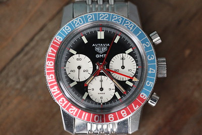 Heuer Autavia 2446c GMT 4th Exec