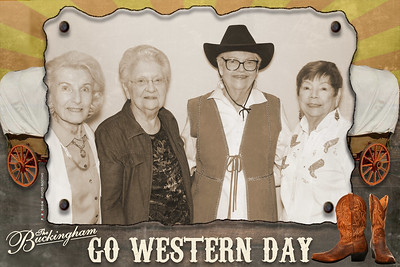 February 22, 2019 - The Buckingham Senior Living Community Go Western Day