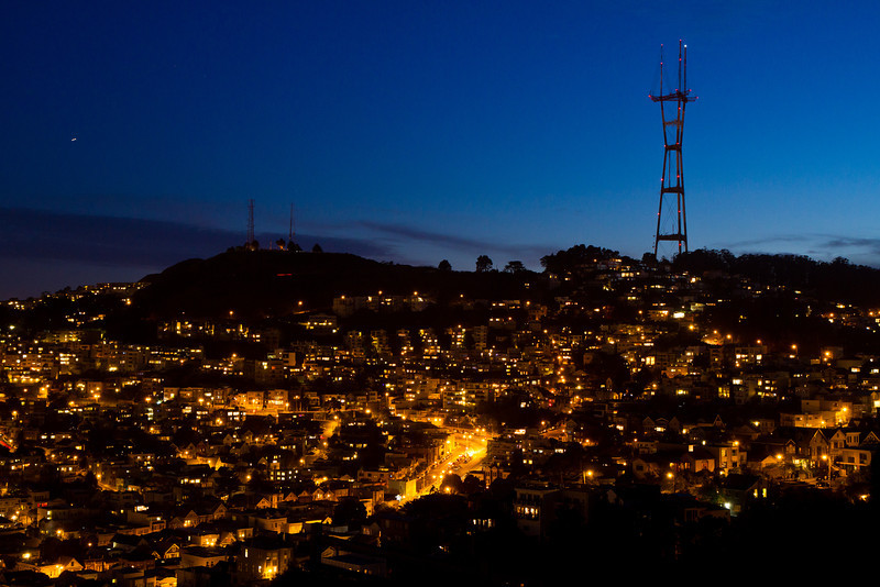 Sutro Tower Twilight