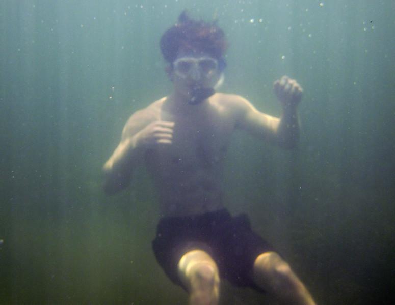 snorkeling at grassy key-16