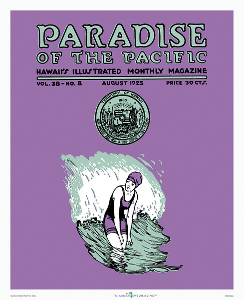236: Paradise OF The Pacific, 1925.