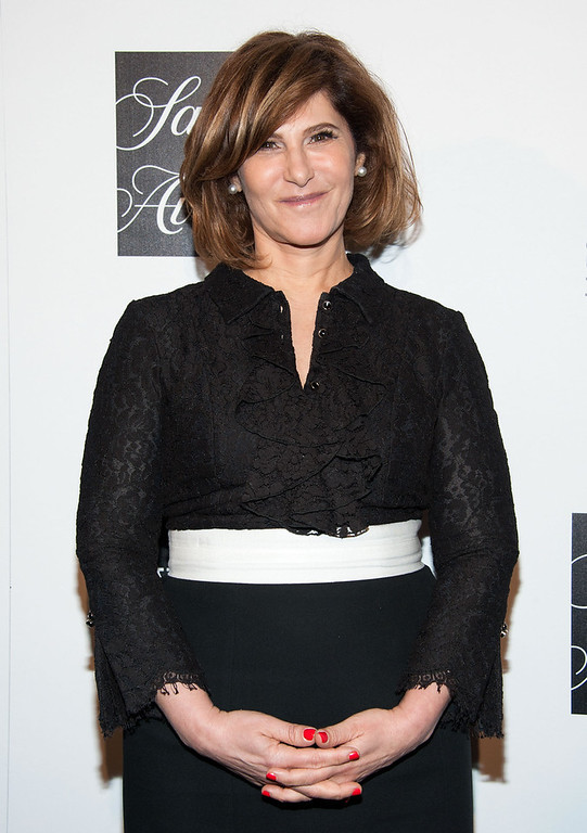 ". Amy Pascal arrives at ""An Evening\"" Benefiting The L.A. Gay & Lesbian Center at the Beverly Wilshire Four Seasons Hotel on March 21, 2013 in Beverly Hills, California. (Photo by Valerie Macon/Getty Images)"