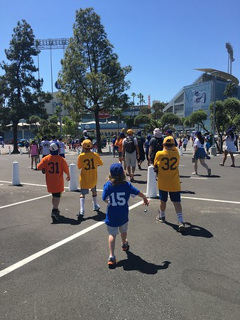 Dodger Day on April 30th - Spring 2018