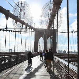 New York; Brooklyn Bridge; USA;