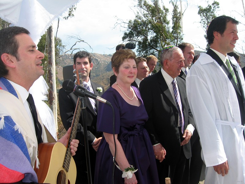 """Rabbi Chasen sings his original song You Shall be Holy.  (To hear the song, click """"Start Slideshow"""" above the photo.)"""