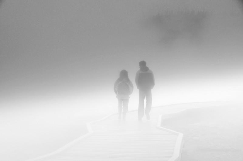 Walking Together bw.jpg