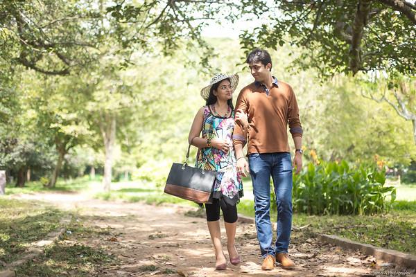 Shashwat Deepika Couple Shoot