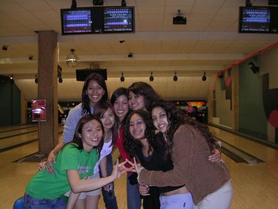 ? at UC Bowling Alley