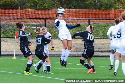 10-18-14 Michigan Women's Club Soccer Vs GVSU
