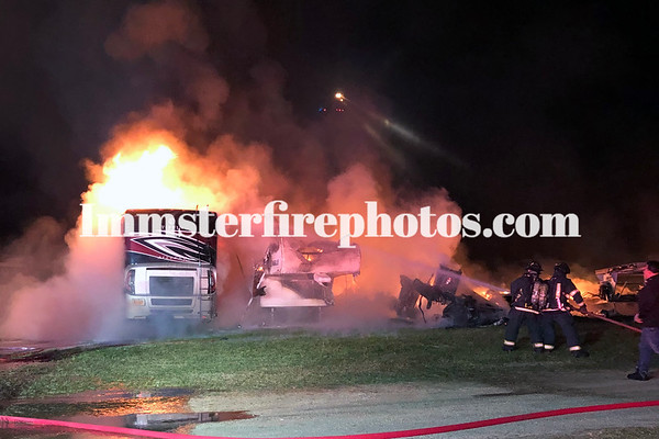 PLAINVIEW RV's ON FIRE