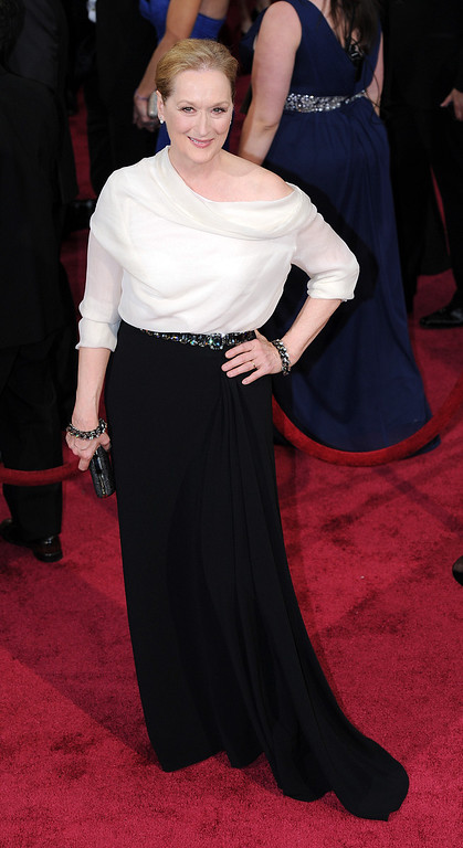 . Meryl Streep attends the 86th Academy Awards at the Dolby Theatre in Hollywood, California on Sunday March 2, 2014 (Photo by John McCoy / Los Angeles Daily News)